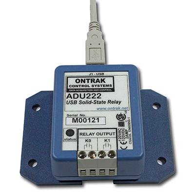 ADU222 USB SolidState Relay IO Interface