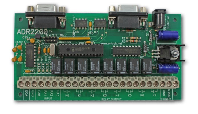 Adr2200 Rs232 Rs485 Relay I O Interface